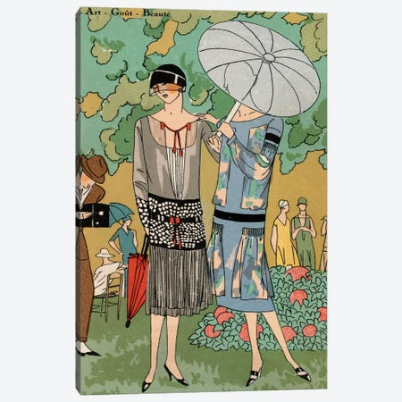 Vintage Couture VI Canvas Print #WAG14} by World Art Group Portfolio Canvas Art Print