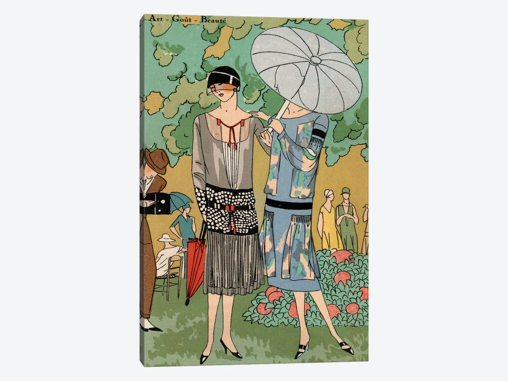 Vintage Couture VI by World Art Group Portfolio 1-piece Canvas Art