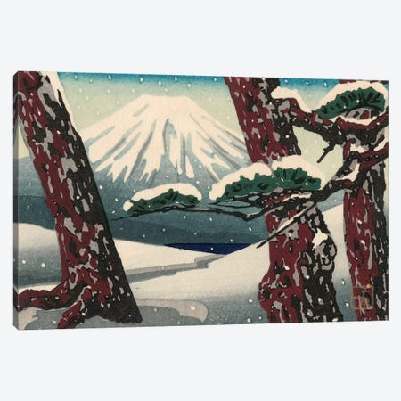 Iconic Japan II Canvas Print #WAG154} by Unknown Artist Canvas Artwork