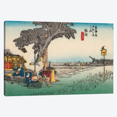 Iconic Japan III Canvas Print #WAG155} by Unknown Artist Canvas Artwork