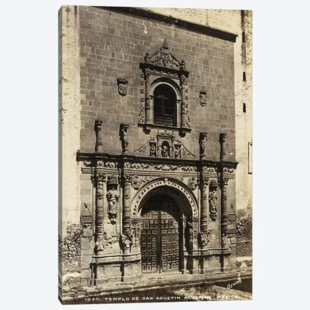 Old Mexico I Canvas Print #WAG171} Art Print