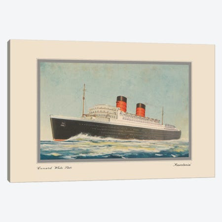 Vintage Cruise I Canvas Print #WAG174} by Unknown Artist Canvas Art