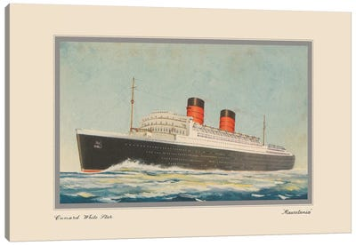 Vintage Cruise I Canvas Art Print