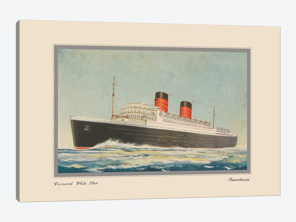 Vintage Cruise I by Unknown Artist 1-piece Canvas Art