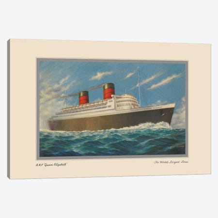 Vintage Cruise II Canvas Print #WAG175} Canvas Wall Art