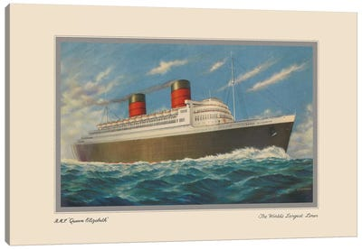 Vintage Cruise II Canvas Art Print