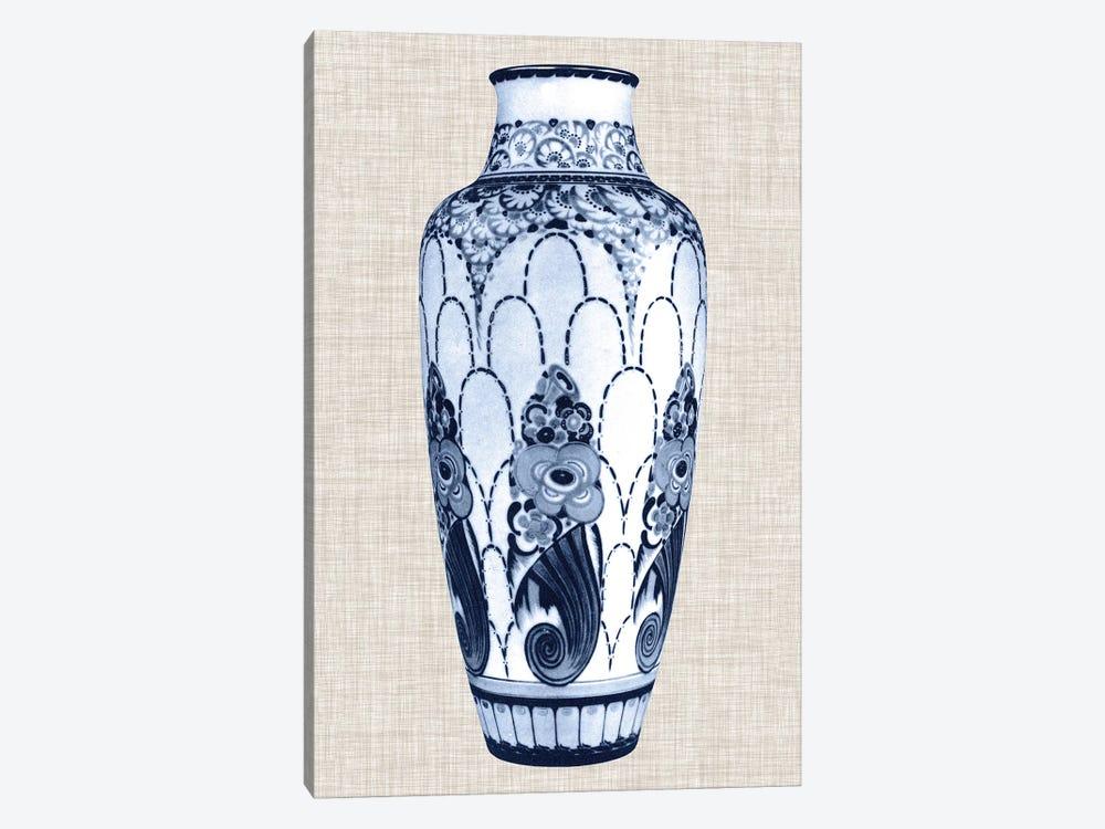Blue & White Vase I by World Art Group Portfolio 1-piece Canvas Artwork