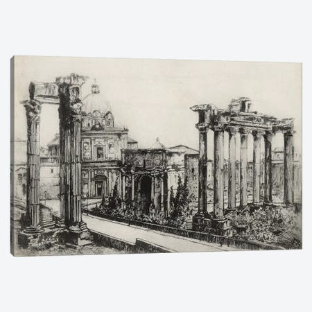 Scenes In Roma Canvas Print #WAG196} by Unknown Artist Canvas Art