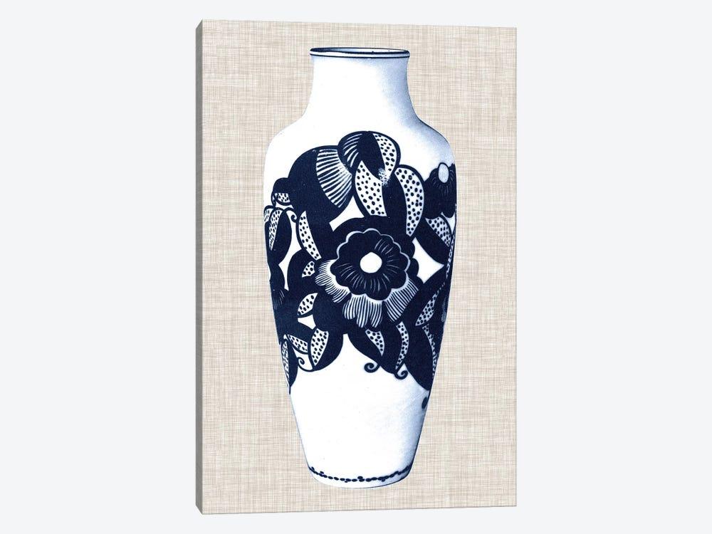 Blue & White Vase III by World Art Group Portfolio 1-piece Canvas Print