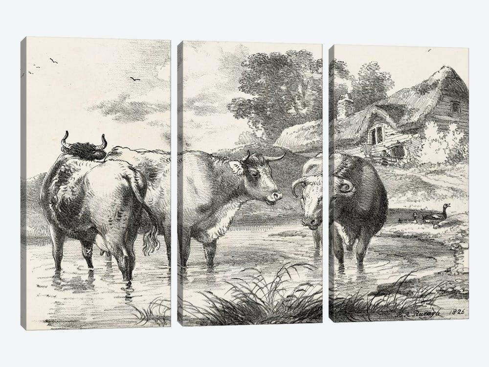 Rural Charms I by World Art Group Portfolio 3-piece Art Print