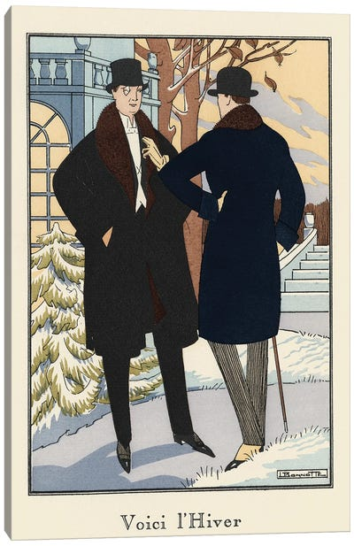 Men's Fashion II Canvas Art Print