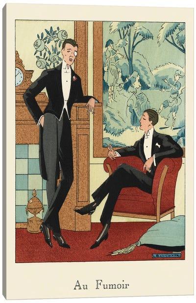 Men's Fashion IV Canvas Art Print