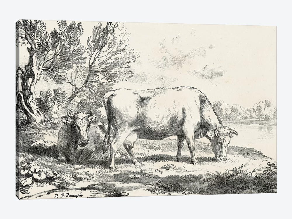 Rural Charms III by World Art Group Portfolio 1-piece Art Print