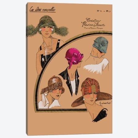 Elegant Chapeau II Canvas Print #WAG2} by World Art Group Portfolio Canvas Art Print