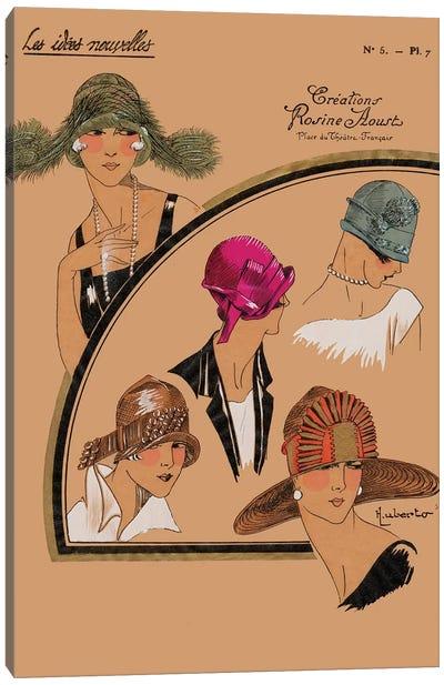 Elegant Chapeau II Canvas Art Print