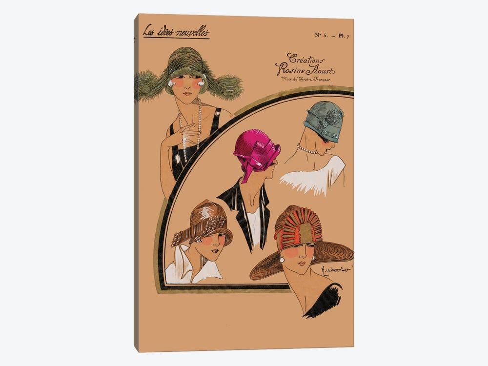 Elegant Chapeau II by World Art Group Portfolio 1-piece Canvas Art Print
