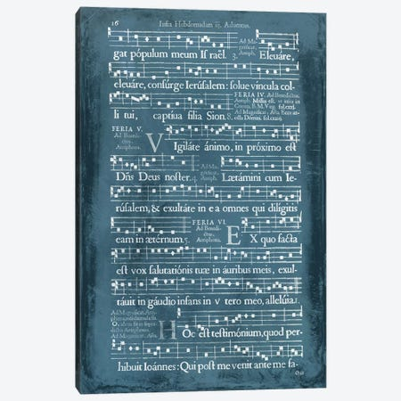 Graphic Songbook I Canvas Print #WAG40} by World Art Group Portfolio Art Print