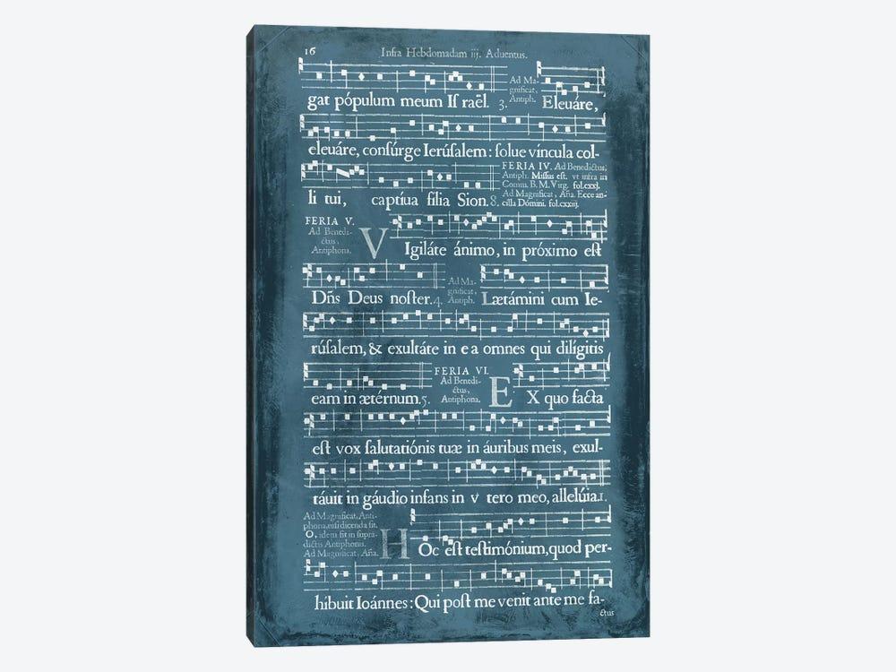 Graphic Songbook I by World Art Group Portfolio 1-piece Canvas Print
