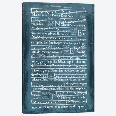 Graphic Songbook II Canvas Print #WAG41} by World Art Group Portfolio Canvas Art Print