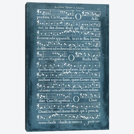 Graphic Songbook III Canvas Print #WAG42} by World Art Group Portfolio Canvas Print