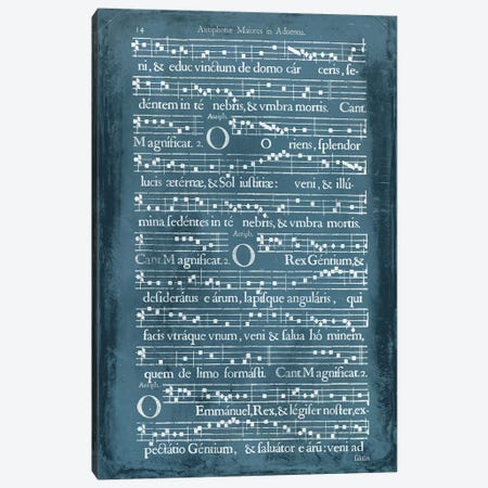 Graphic Songbook IV Canvas Print #WAG43} by World Art Group Portfolio Art Print