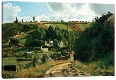 Jalais, Hill, Pontoise Canvas Art Print