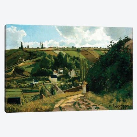 Jalais, Hill, Pontoise Canvas Print #WAG49} by Camille Pissarro Canvas Art Print