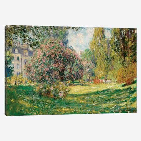 Landscape-The Parc Monceau Canvas Print #WAG54} by Claude Monet Canvas Print