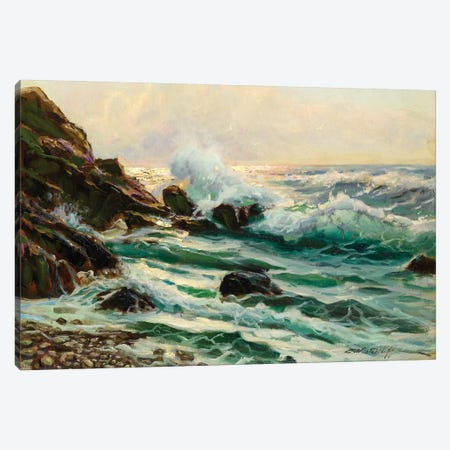 Main Seascape I Canvas Print #WAG62} by Constantin Alexandrovitch Westchiloff Canvas Print