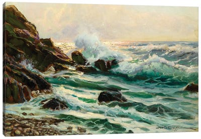 Main Seascape I Canvas Art Print