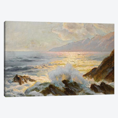 Main Seascape II Canvas Print #WAG63} by Constantin Alexandrovitch Westchiloff Canvas Print