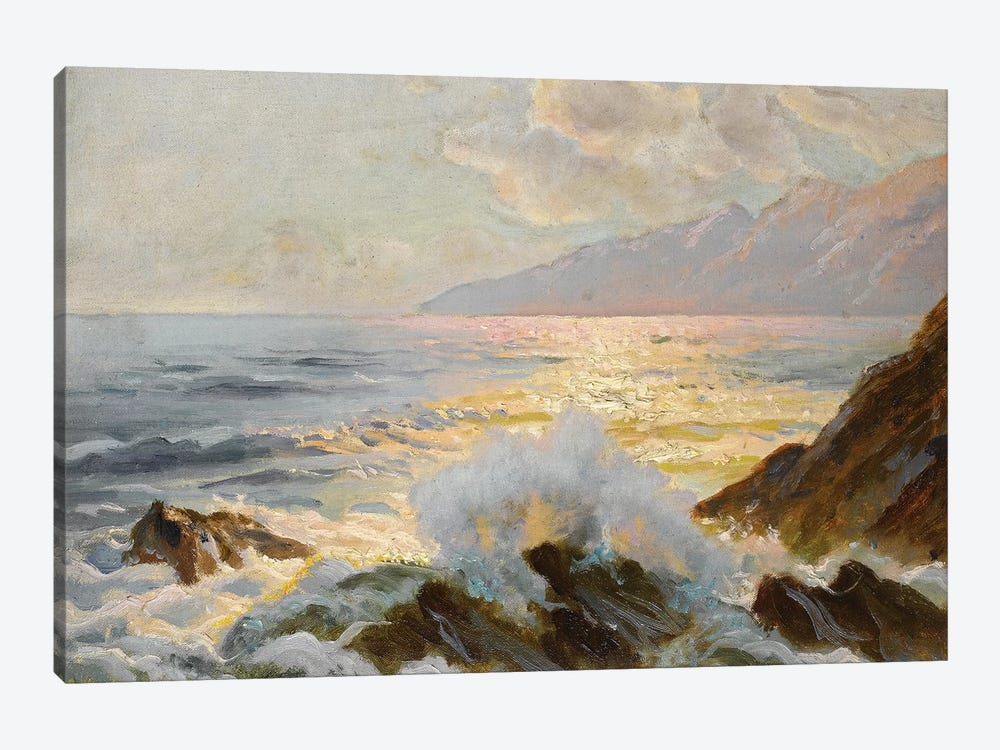 Main Seascape II by Constantin Alexandrovitch Westchiloff 1-piece Canvas Artwork