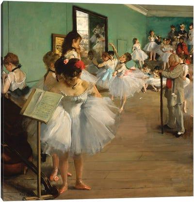 The Dance Class, 1874 Canvas Art Print