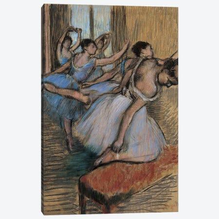 The Dancers Canvas Print #WAG65} by Edgar Degas Canvas Art