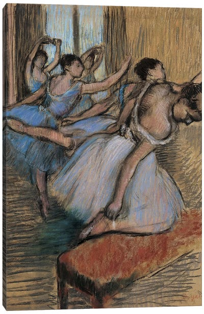 The Dancers Canvas Art Print