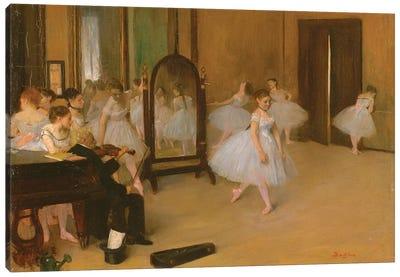 The Dance Class, 1871 Canvas Art Print