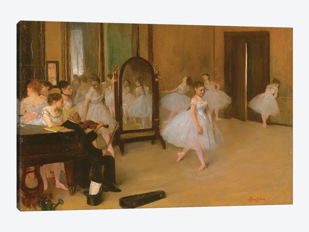 The Dance Class, 1871 by Edgar Degas 1-piece Canvas Art Print