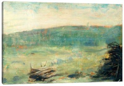 Landscape At Saint-Ouen Canvas Art Print