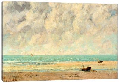 The Calm Sea Canvas Art Print