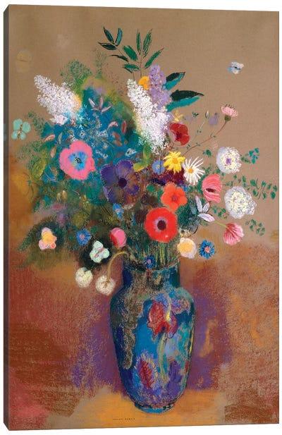 Bouquet Of Flowers Canvas Art Print