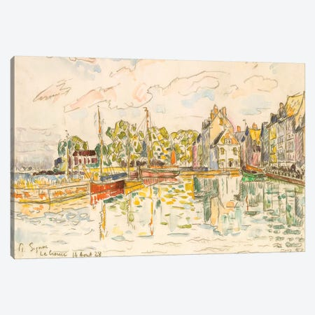 Le Croisic I Canvas Print #WAG80} by Paul Signac Canvas Print