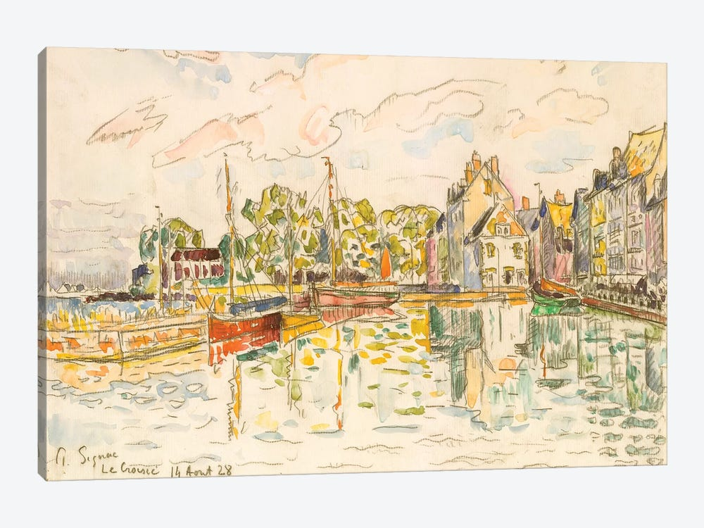 Le Croisic I by Paul Signac 1-piece Canvas Print