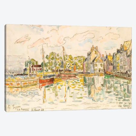 Le Croisic I 3-Piece Canvas #WAG80} by Paul Signac Canvas Print
