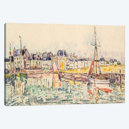 Le Croisic II Canvas Print #WAG81} by Paul Signac Art Print