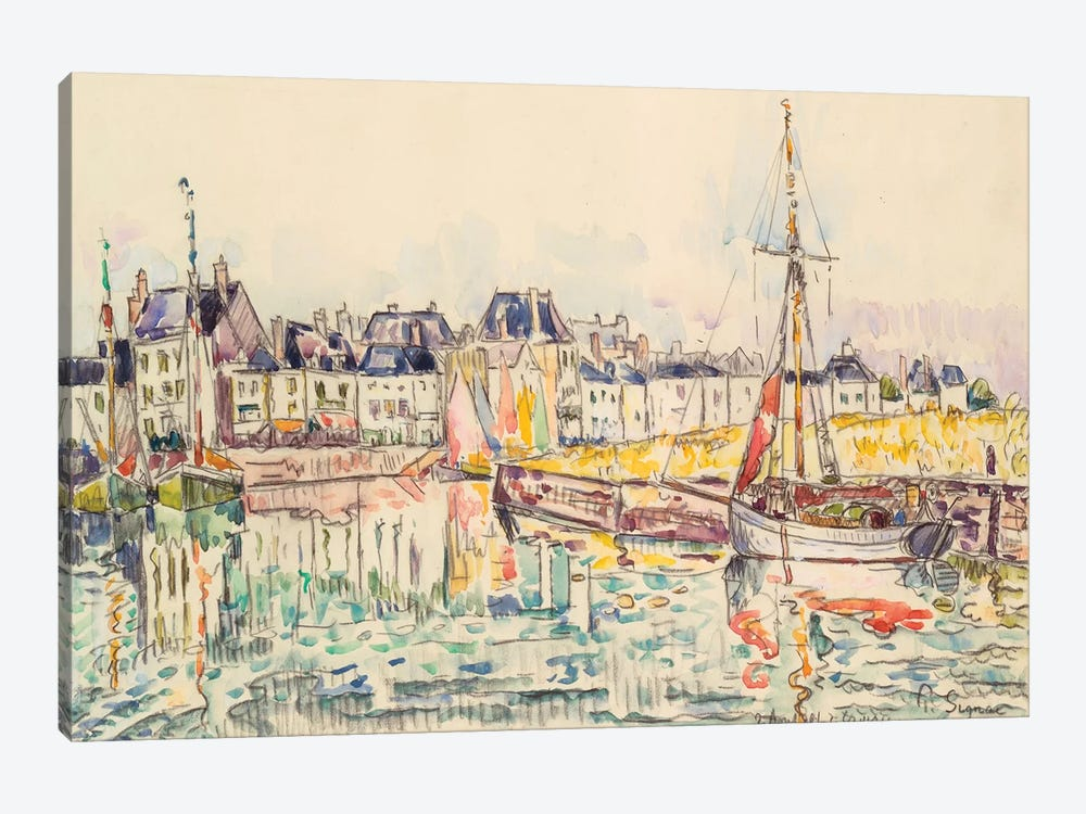 Le Croisic II by Paul Signac 1-piece Canvas Artwork