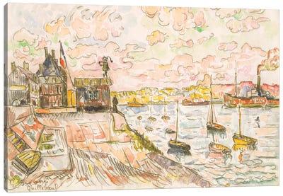 Quilleboeuf Canvas Art Print