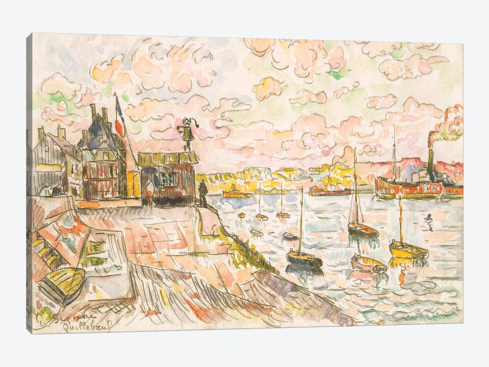 Quilleboeuf by Paul Signac 1-piece Canvas Artwork