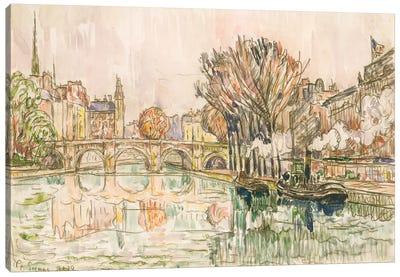The Pont Neuf, Paris Canvas Art Print