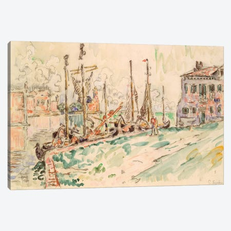 Venice Canvas Print #WAG87} by Paul Signac Canvas Art