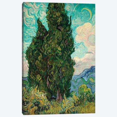 Cypresses I Canvas Print #WAG90} by Vincent van Gogh Canvas Art